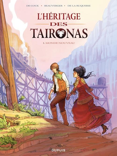 L'héritier des Taïronas t.1 ; monde nouveau