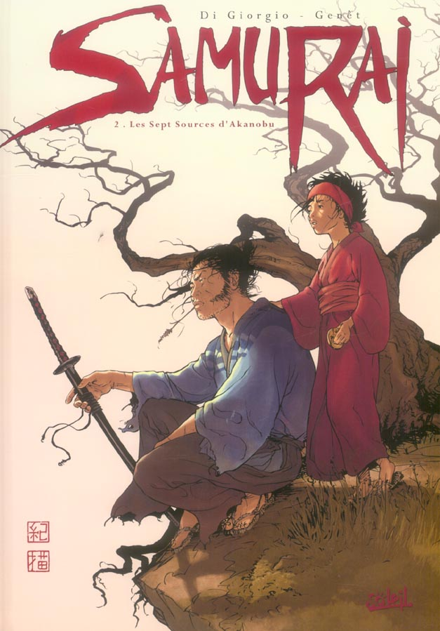 samurai t.2 ; les sept sources d'Akanobu