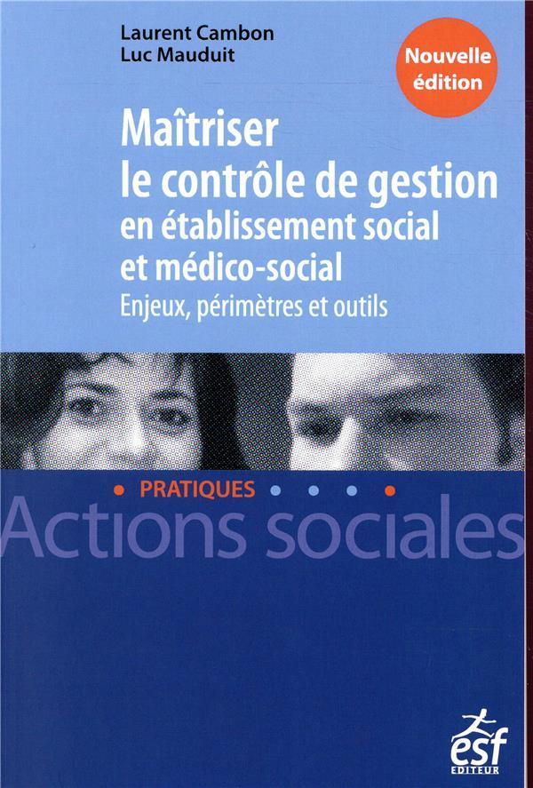Maîtriser le controle de gestion en établissement social et MS