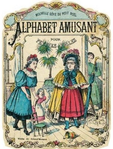 Alphabet amusant pour petites filles