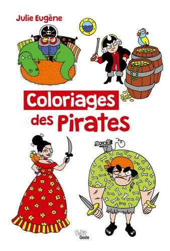 Coloriages des pirates