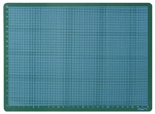 Plaque de coupe A3 30 x 45 cm GRAPHO'CUT - Verte - 1 plaque