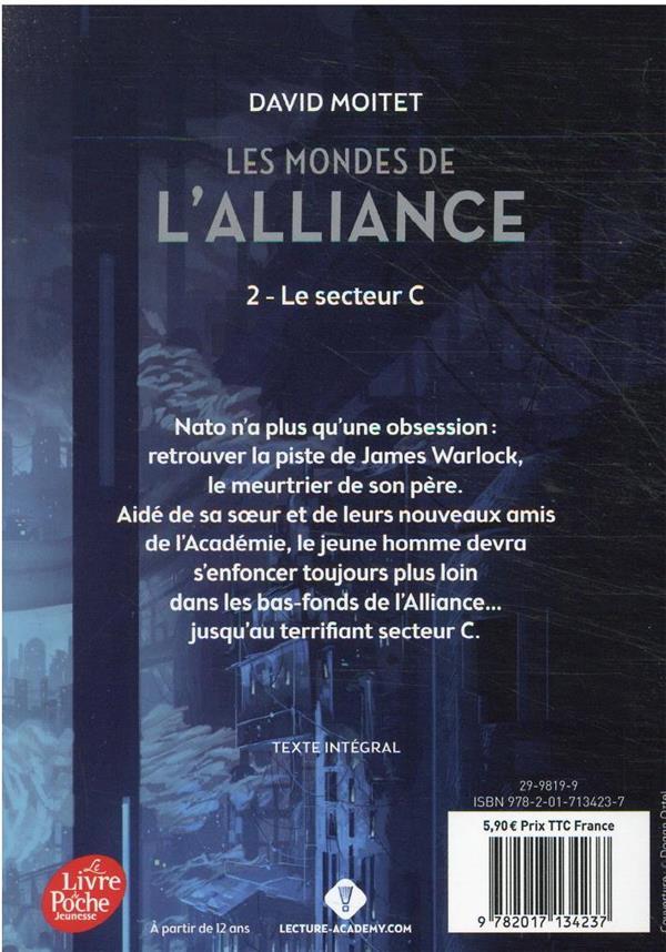 Les mondes de l'alliance t.2 ; le secteur C