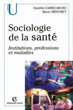 Vente Livre Numérique : Sociologie de la santé  - Marie Ménoret - Danièle Carricaburu