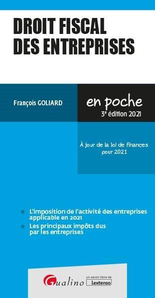 Droit fiscal des entreprises (3e édition)