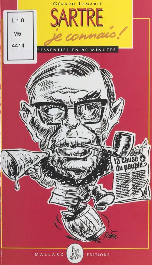 Sartre je connais