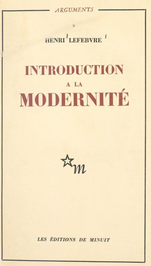 Introduction à la modernité