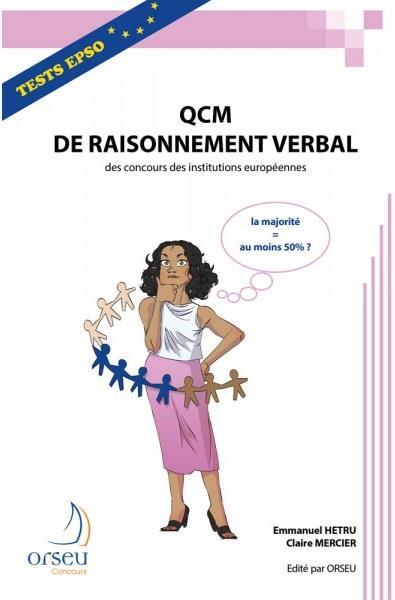 Qcm raisonnement verbal 2019 des concours des institutions europeennes