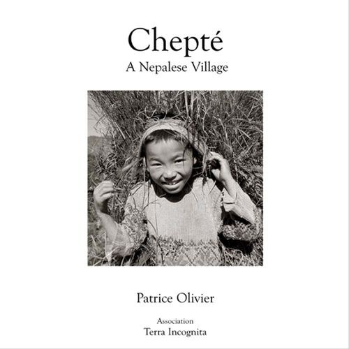 Chepté, A Nepalese Village ; black and white