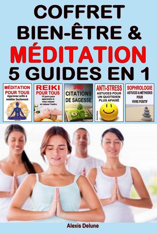 Coffret Bien-être & Méditation - 5 guides en 1