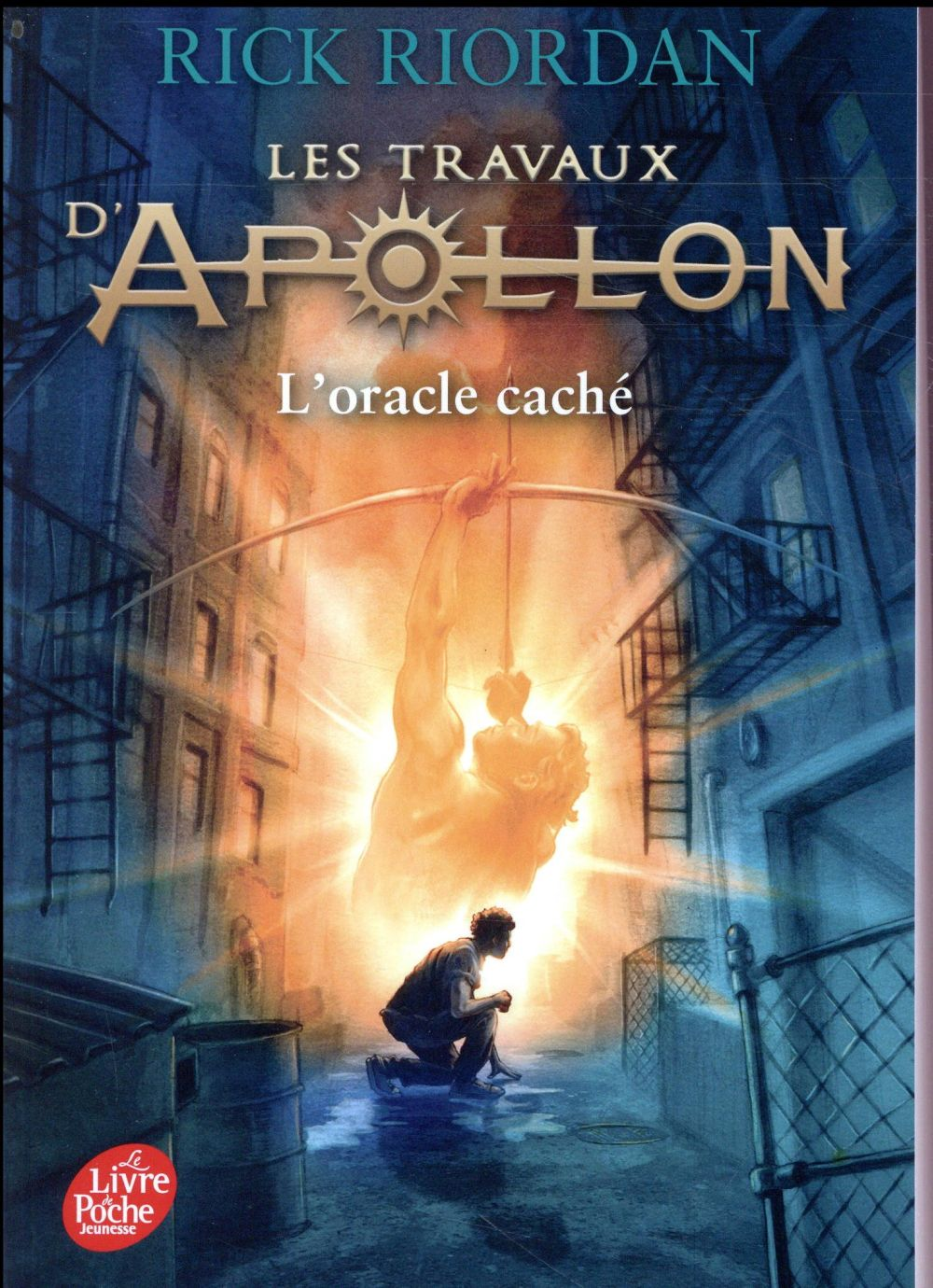 Les travaux d'Apollon T.1 ; l'oracle caché