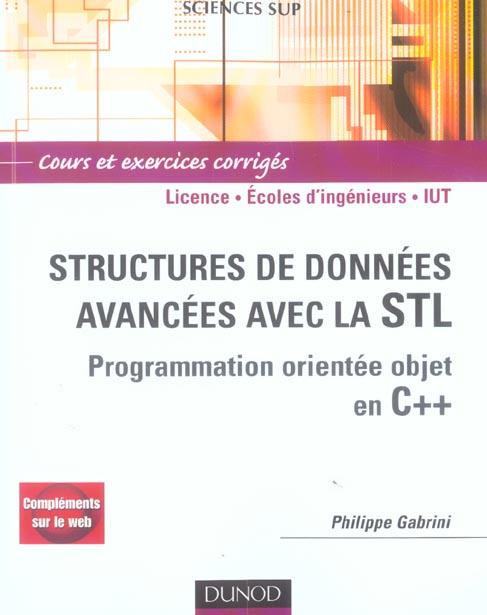 Structures De Donnees Avancees Avec La Stl - Programmation Orientee Objet En C++