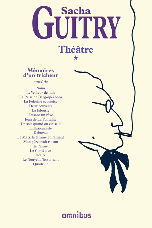 Théâtre t.1 ; mémoires d'un tricheur