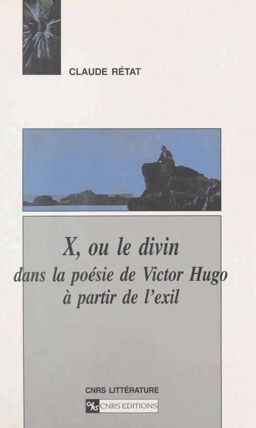 Le divin dans la poesie de victor hugo
