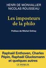 Vente EBooks : Les imposteurs de la philo  - Nicolas Rousseau - Henri de Monvallier