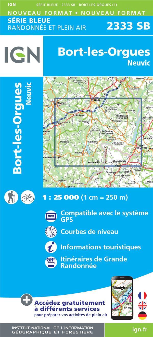 2333SB ; Bort-les-Orgues, Neuvic