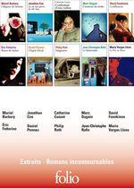 Vente Livre Numérique : EXTRAITS - Romans incontournables Folio  - David Foenkinos - Daniel Pennac - Muriel Barbery - Jonathan Coe - Marc Dugain - Catherine Cusset - Philip Roth - Éric Fottorino