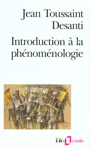 Introduction A La Phenomenologie