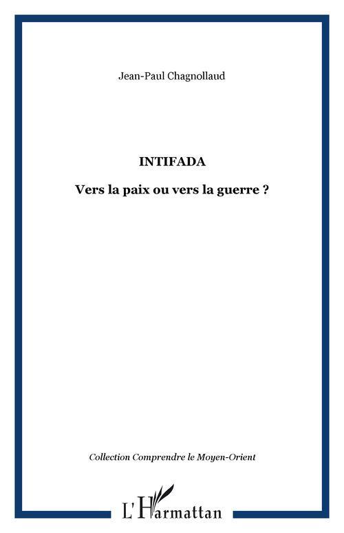 Vente EBooks : Intifada  - Jean-Paul Chagnollaud