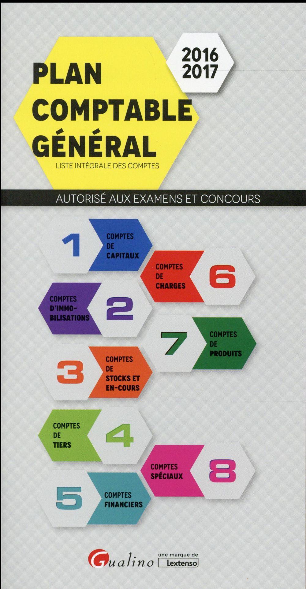 Plan comptable général 2016-2017