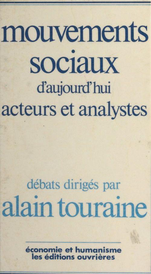 Mouvements sociaux d'aujourd'hui