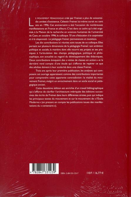 Freinet 70 ans après (2e édition)