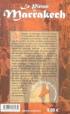 Le piéton de marrakech