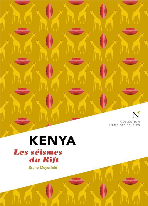Kenya ; les séismes du Rift