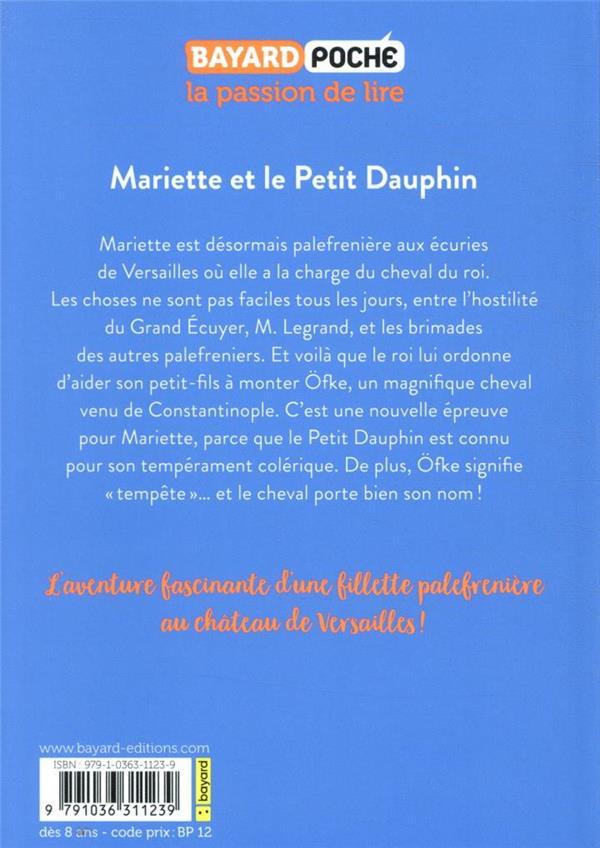 Les écuries de Versailles T.2 ; Mariette et le petit Dauphin