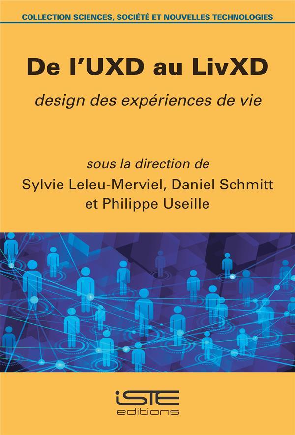 de l'UXD au LivXD ; design des expériences de vie