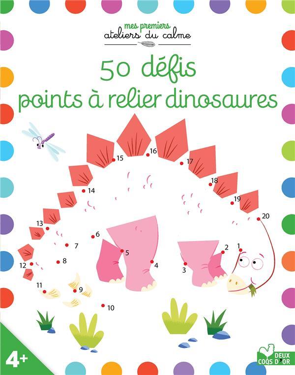 50 défis points à relier dinosaures