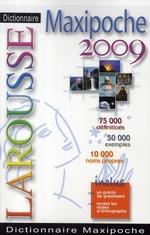 Couverture de Dictionnaire larousse maxipoche (édition 2009)
