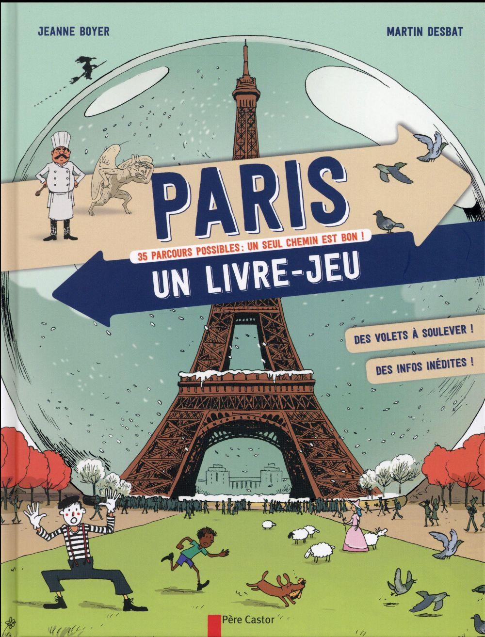 Paris, un livre-jeu