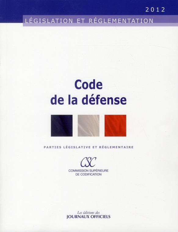 Code de la défense