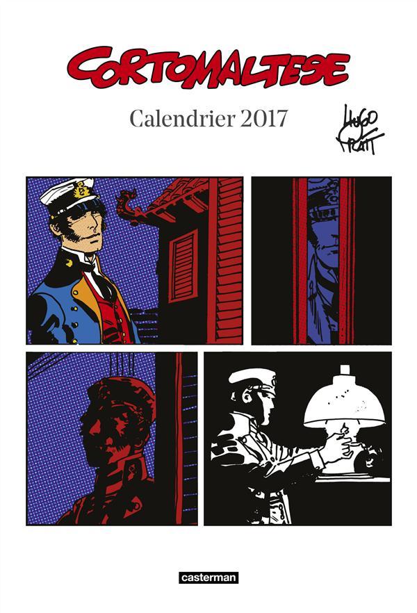 Corto Maltese ; calendrier 2017