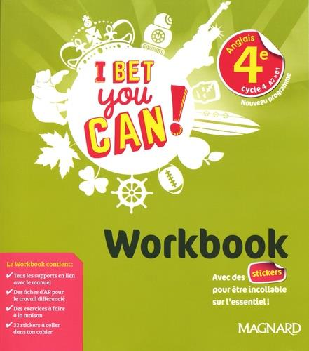 Anglais ; 4e ; workbook