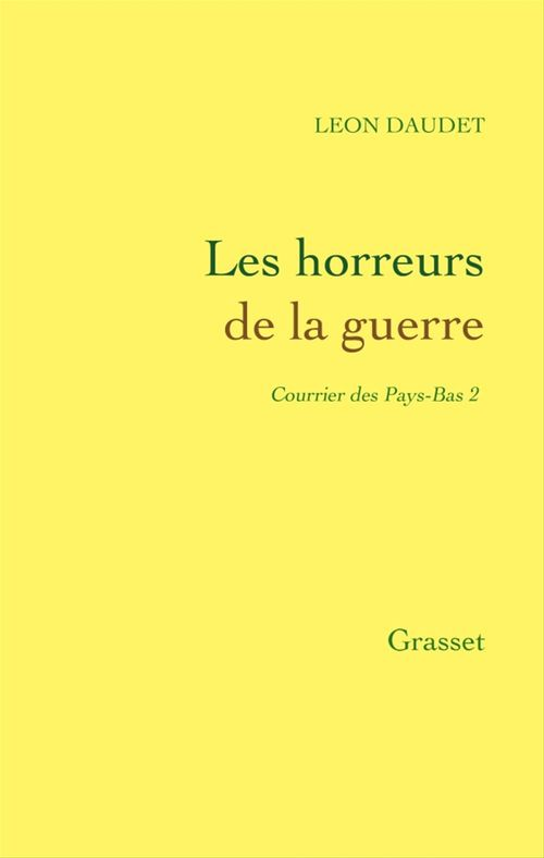 Horreurs de la guerre  - Alphonse Daudet