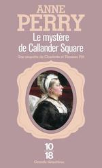 Couverture de Le mystere de callander square