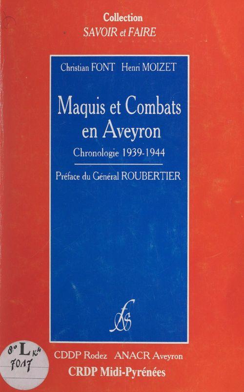 Maquis et combats en Aveyron