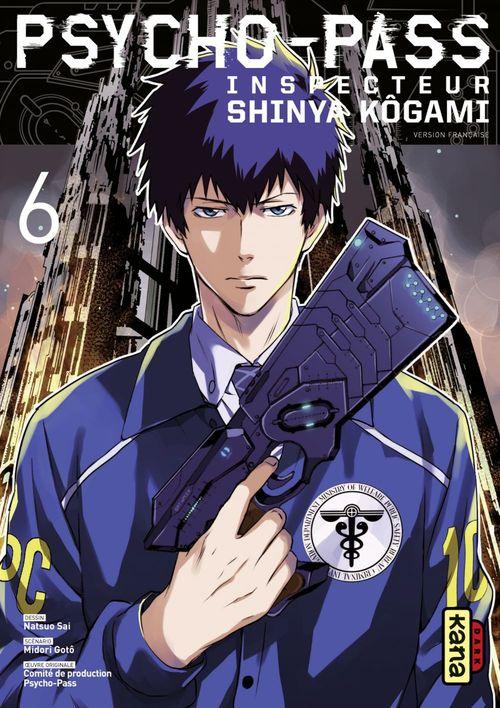 Psycho-pass ; inspecteur Shinya Kôgami T.6