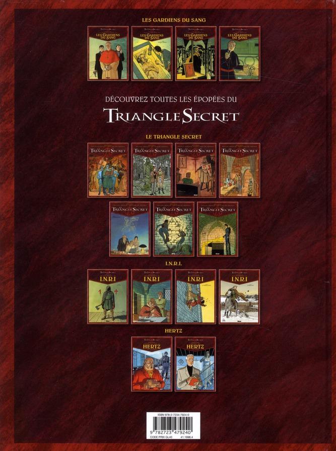 le triangle secret - les gardiens du sang t.4 ; ordo ab chao