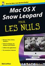 Vente Livre Numérique : Mac OS X Snow Leopard Poche pour les nuls  - Bob LEVITUS