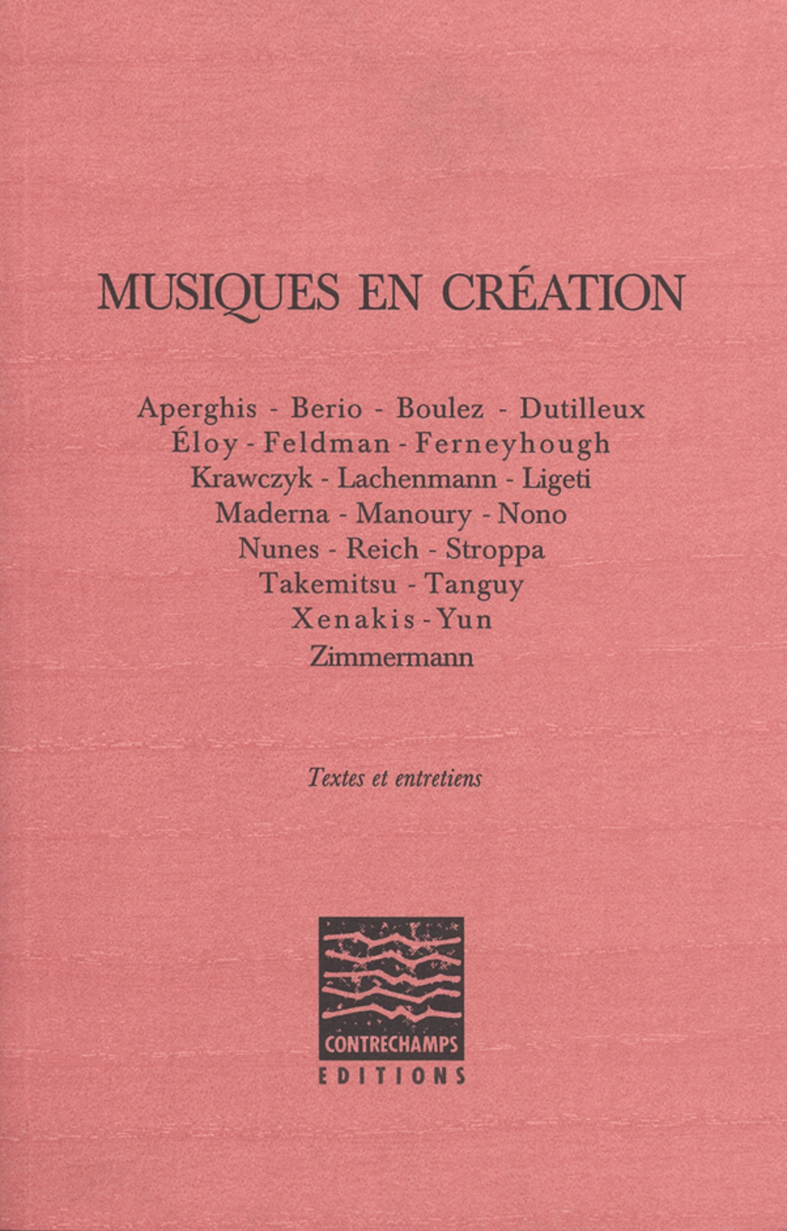 Musiques en creation