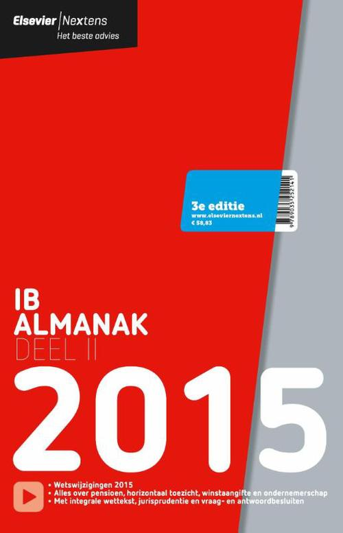 Elsevier IB Alkmanak - 2015 deel 2