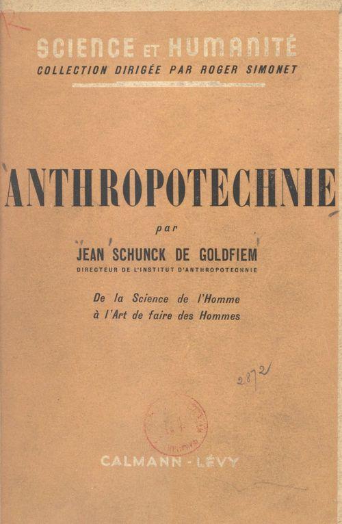 Anthropotechnie
