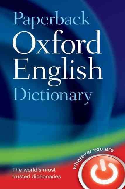 ENGLISH PAPERBACK DICTIONARY