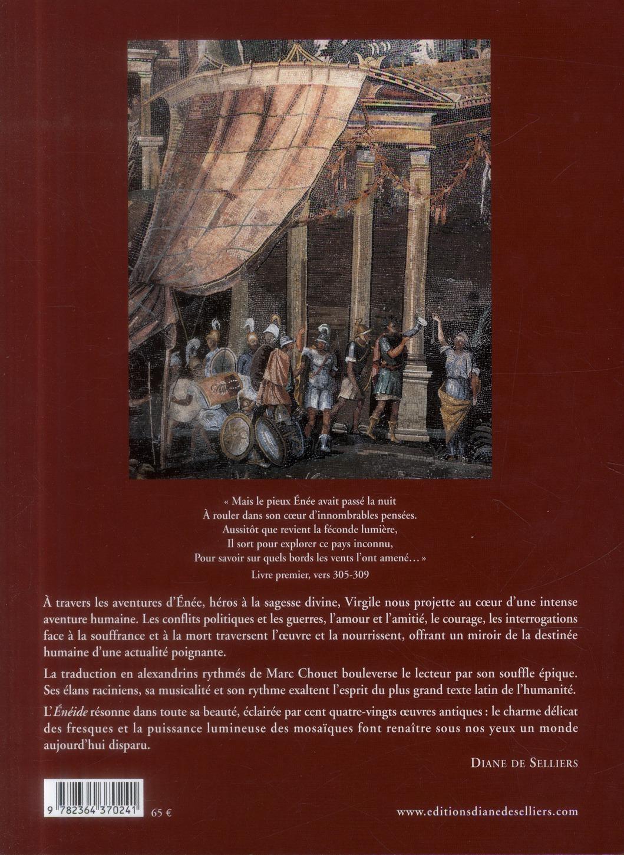 l'Enéide de Virgile illustrée par les fresques et mosaïques antiques