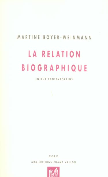 La Relation Biographique