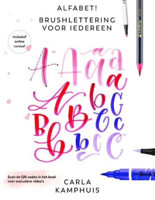 Alfabet! Brushlettering voor iedereen