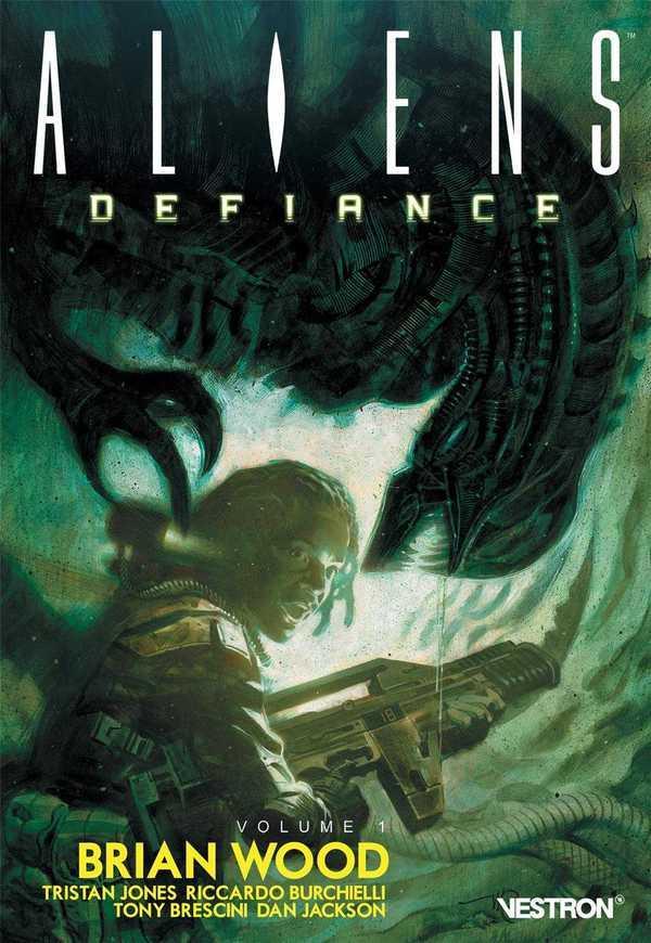 Brian Wood - aliens : défiance t.1